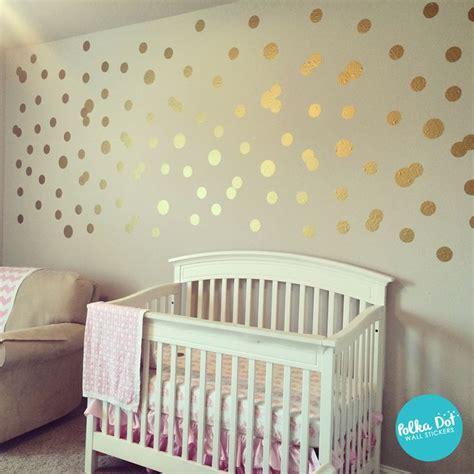 wall stickers polka dots best 25 gold dot wall ideas on polka dot room gold dots and polka dot walls