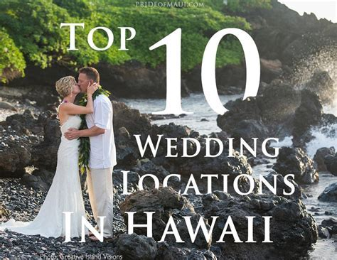 Affordable Destination Wedding Packages Hawaii