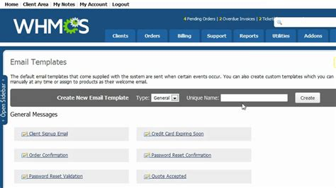 edit whmcs template how to customize the e mail templates used by whmcs