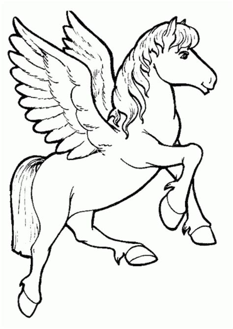 Coloring Pages Flying Unicorns | flying unicorn coloring pages coloring home