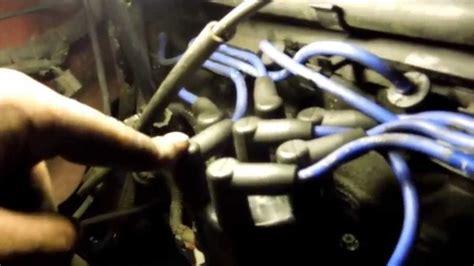 change spark plugs  wires  jeep wrangler tune