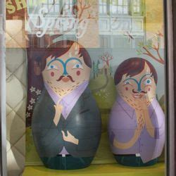 Teds Shed Ted Baker by Ted Baker S Spinning Nesting Dolls Invite You To Shed Some Layers Racked Ny