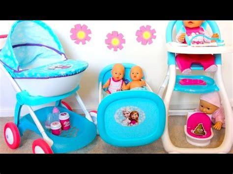 baby doll high chair set best baby doll nursery set stroller for dolls high