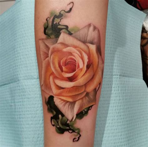 bed of roses tattoo 45 gorgeous floral tattoos for tattooblend