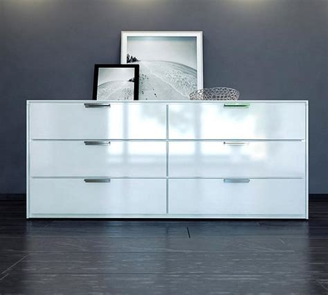 White Dresser Bedroom 10 Sleek Bedroom Dresser With Clean Lines Rilane