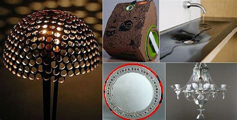 Diy Recycled Home Decor 5 Eco Friendly Home Products Made Using Recycled Materials