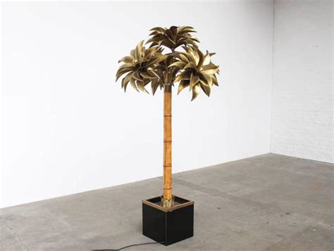 Palm Floor L by Large Maison Jansen Palm Tree Floor L At 1stdibs