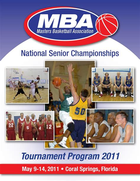 Mba Mississippi Basketball Association by 2011 National Chionships Tournament Program By Masters