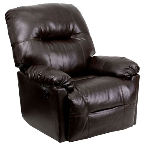 leather chaise recliner bentley brown leather chaise power recliner from renegade