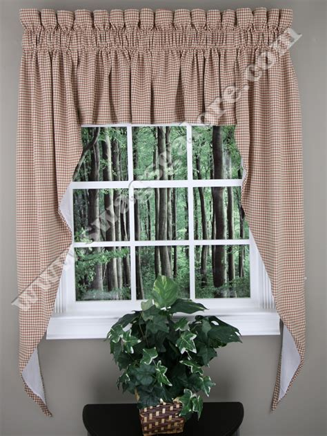 Kitchen Curtains Swags Fleetwood 102 X 63 Lined Swag Set Berry Stylemaster Kitchen Valances