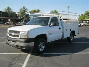 Chevrolet Utility Truck For Sale Chevrolet 2500hd 2004 Chevrolet 2500hd Service Utility