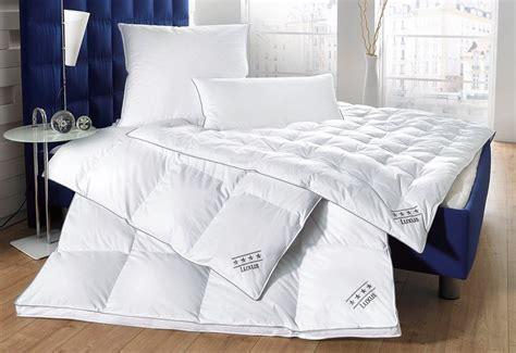 Hochwertige Bettdecken by Set Daunenbettdecken Kopfkissen Balette 187 Luxus 171 4 Tlg