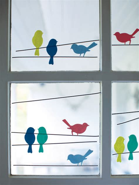 bird window stickers contemporary wall decals by cox