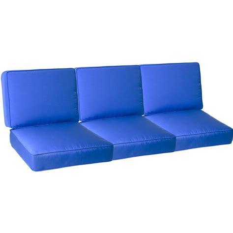 sofa cushion set medium replacement sofa cushion set with piping canvas