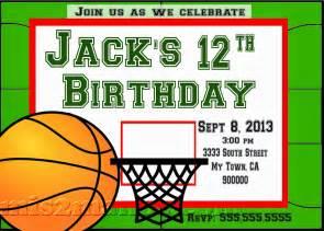 boy birthday invitation templates mis 2 manos made by my basketball
