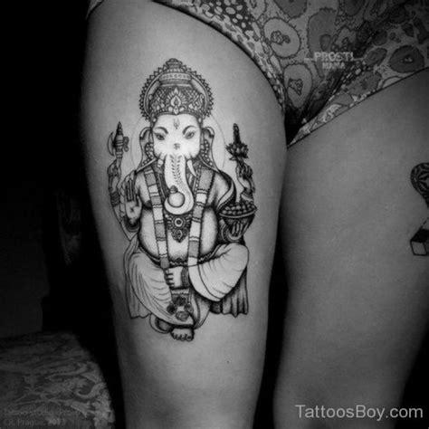 ganesha tattoo leg hinduism tattoos tattoo designs tattoo pictures page 5