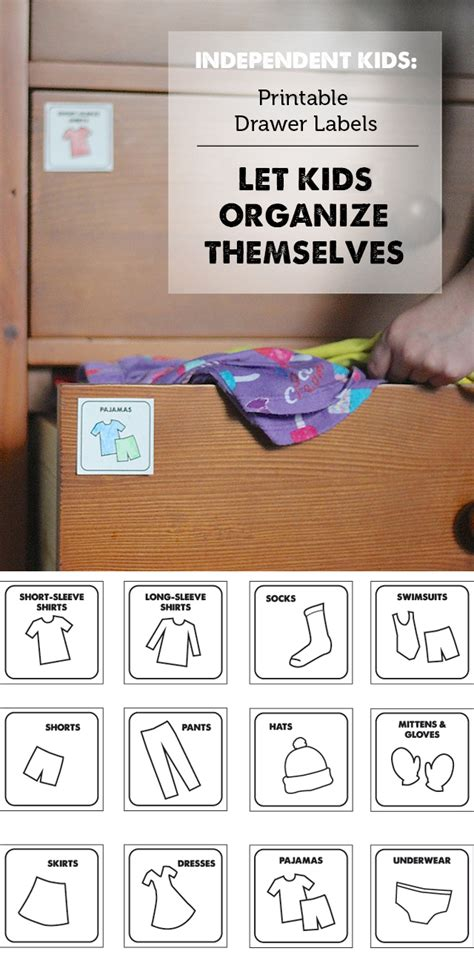 printable drawer labels 8 best images of printable organizing clothes printable