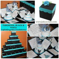 jinky s crafts designs quinceanera invitations by color theme