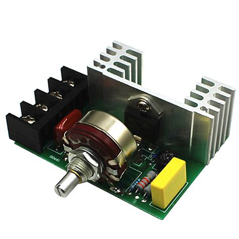 Ac Automatic Voltage Regulator 4000w 220v ac scr electric voltage regulator dimmer motor