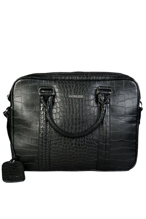 guess messenger shoulder bag hm2519cr054 black mens new ebay