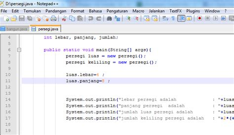 cara membuat logo java lilis suryani cara membuat program persegi menggunakan