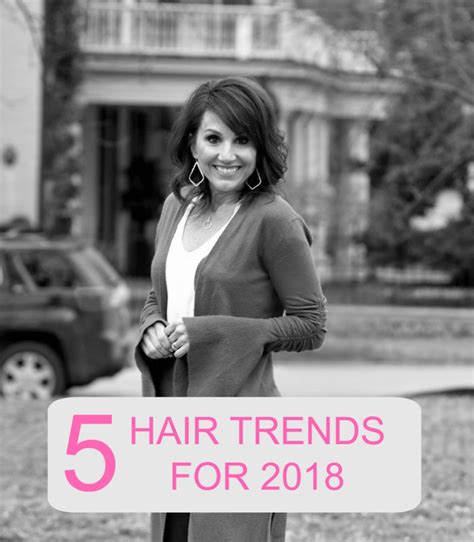 5 Trends For by 5 Hair Trends For 2018 Grace