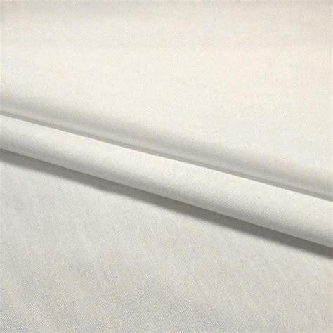 Plain Polycotton 1 plain polycotton fabric 112cm width white 1 metre