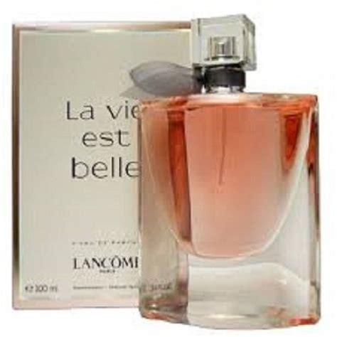vie parfum la vie est by lancome 2 5 oz eau de parfum spray for new boxed