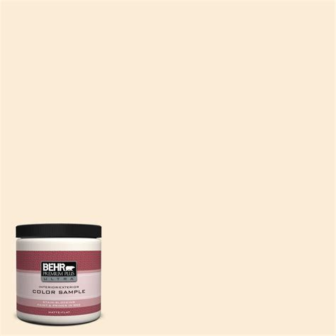 behr premium plus ultra 8 oz icc 90 butter yellow interior exterior paint sle icc 90u the