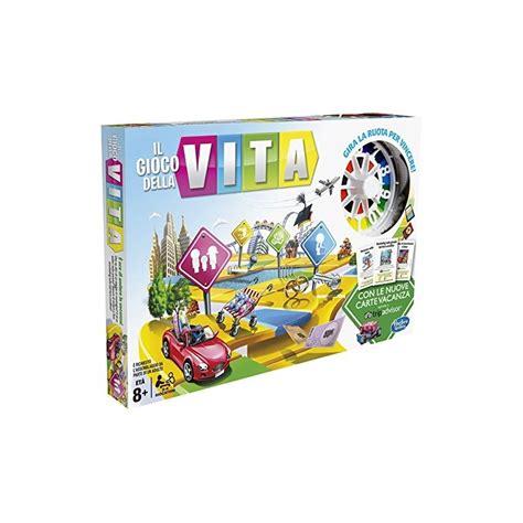 hasbro giochi da tavolo hasbro c0161103 il gioco della vita gioco da tavolo
