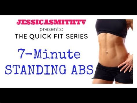 ab workout abs belly weight loss 7 minute length standing abs workout