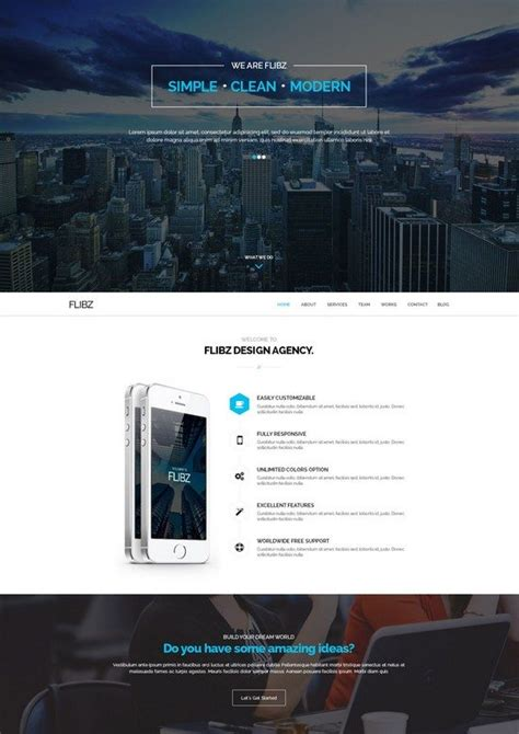 25 parallax html5 templates to create scrolling website