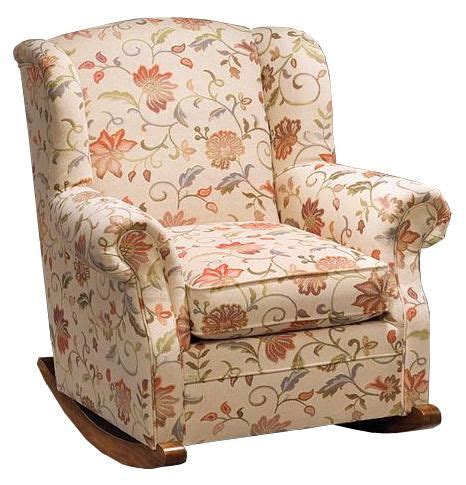 Justice Chairs - accent chairs and ottomans casual upholstered rocking
