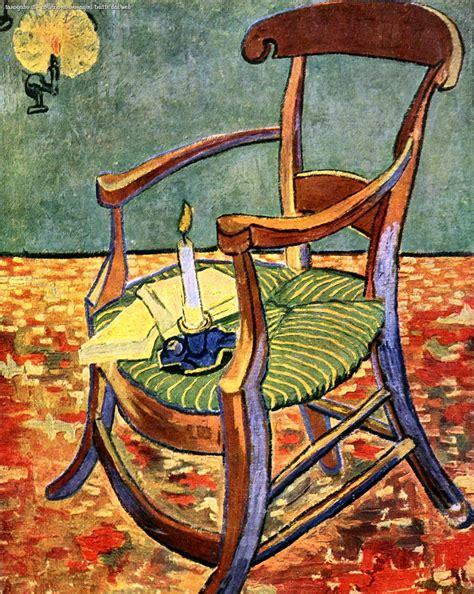 sedia di gogh gogh la sedia di gauguin 1888 sfruttiamo il web