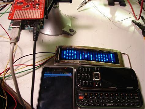 tutorial arduino usb host shield sms to cheap scrolling led via arduino usb host shield