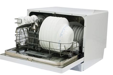 Magic Chef Countertop Dishwasher by Review Of Magic Chef Mcscd6w1 Countertop Dishwasher