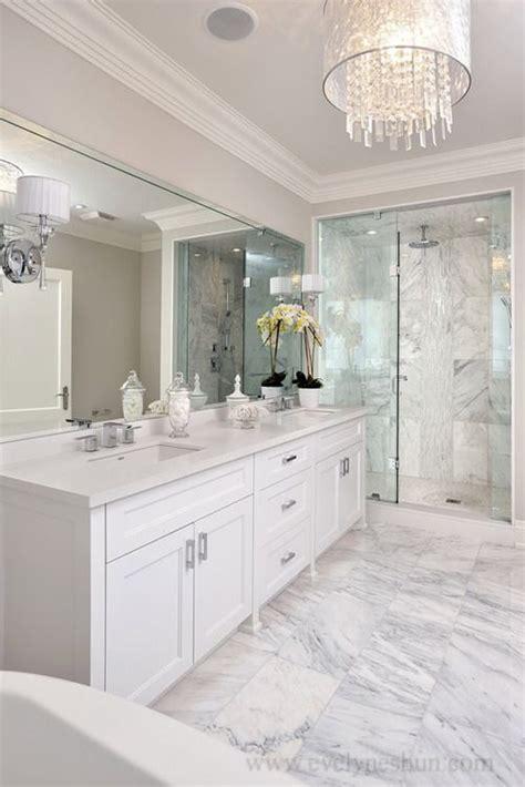 master bathroom white all white bathroom master bathroom pinterest
