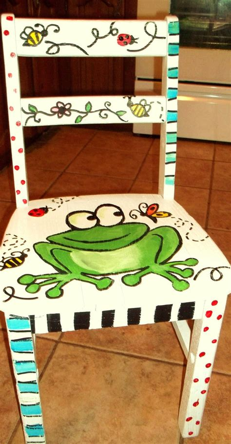 painted armchair best 25 painted kids chairs ideas on pinterest cheap table and chairs hand painted
