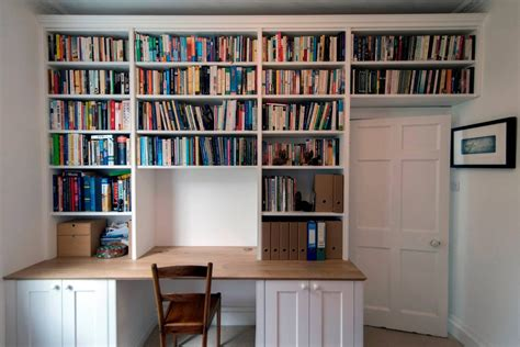 Office Desk With Bookshelf Bookcases Amp Libraries