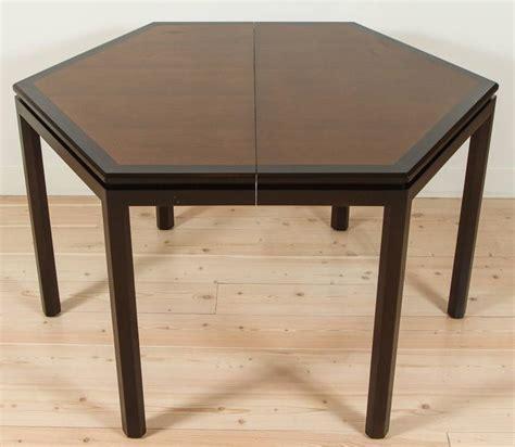 Hexagonal Dining Table Hexagonal Dining Table By Edward Wormley For Dunbar At 1stdibs
