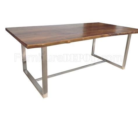 terra dining table by casabianca w teak top