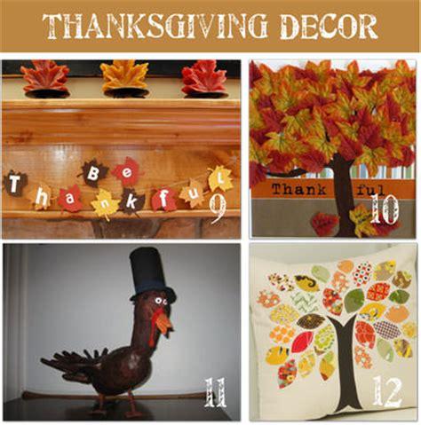 Thanksgiving Handmade Decorations - 16 frugal thanksgiving decorating ideas tip junkie