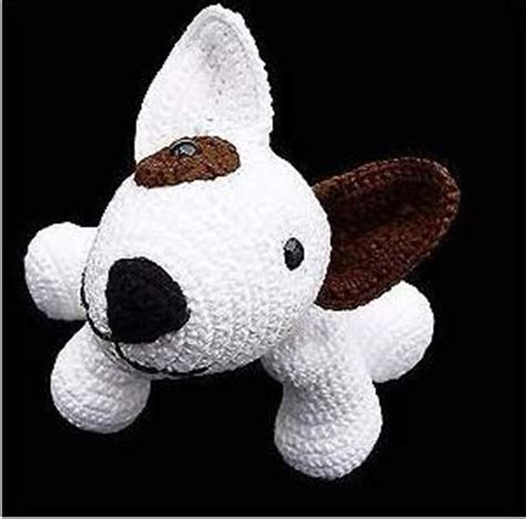 knitting pattern english bull terrier free puppy dog amigurumi crochet pattern and tutorial use