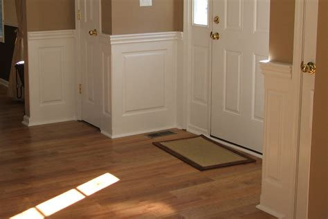 Wainscoting Pictures Ideas by Staircase Foyer Wainscoting Ideas From Wainscoting