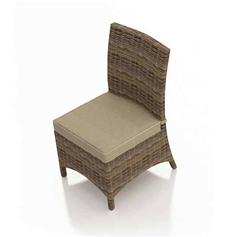 Forever Patio Cypress Wicker Dining Side Chair