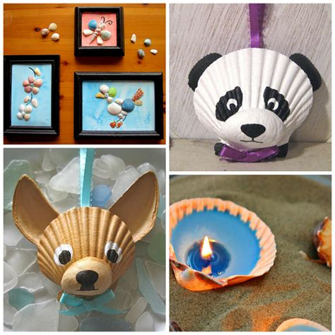 craft ideas for adorable seashell craft ideas for crafty morning