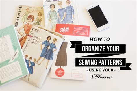 How To Organize A Mountain Of Sewing Patterns With Your | how to organize a mountain of sewing patterns with your