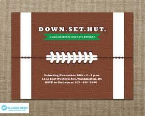 football invitation football football birthday football printable tailgate