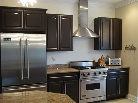 espresso painted kitchen cabinets espresso painted kitchen cabinets best free home