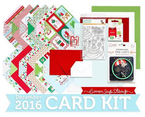 sss december card kit reveal n cuts